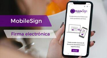 Firma electrónica desde el móvil